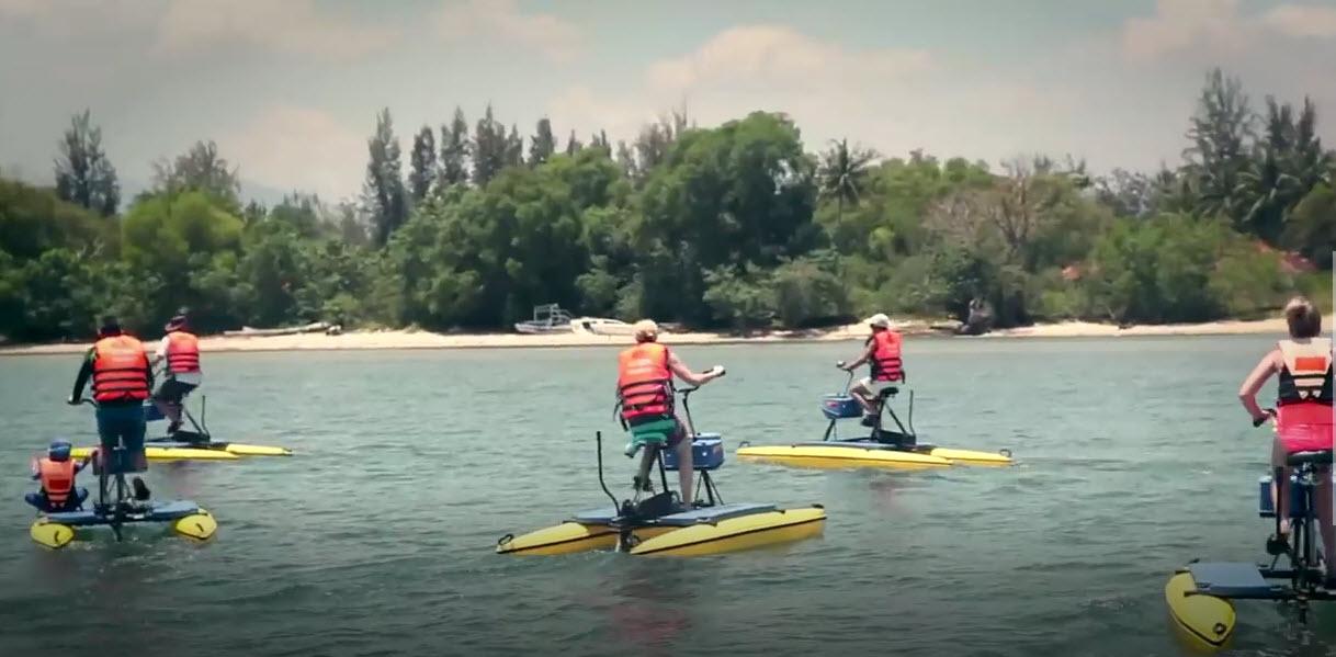 Guys on Tarpons Springs Hydrobike